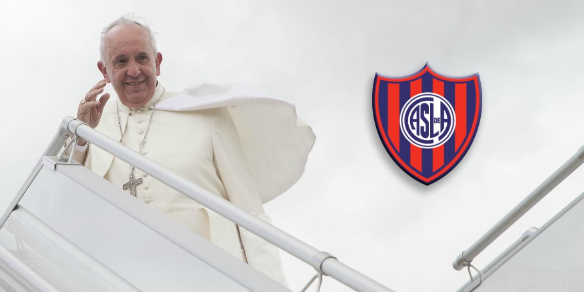 San Lorenzo, una pasión del Papa
