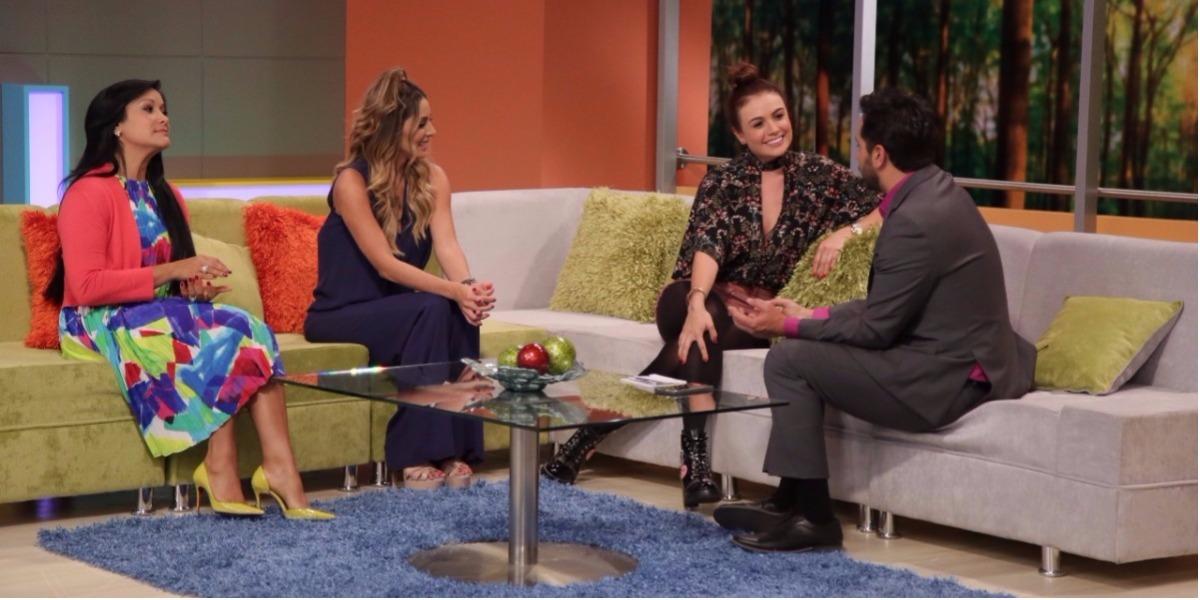 Sara Uribe habló en Acá Entre Nos de su relación con Fredy Guarín - Foto: Laura Vallejo.
