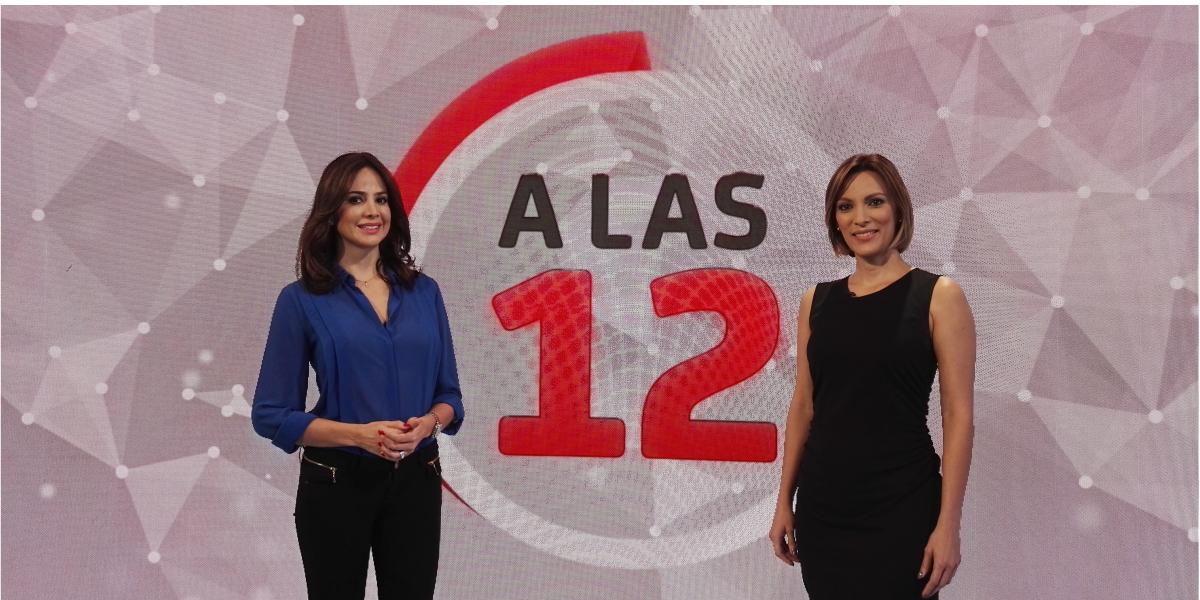 María Fernanda Navia y Yalena Jácome estarán en 'A las 12'