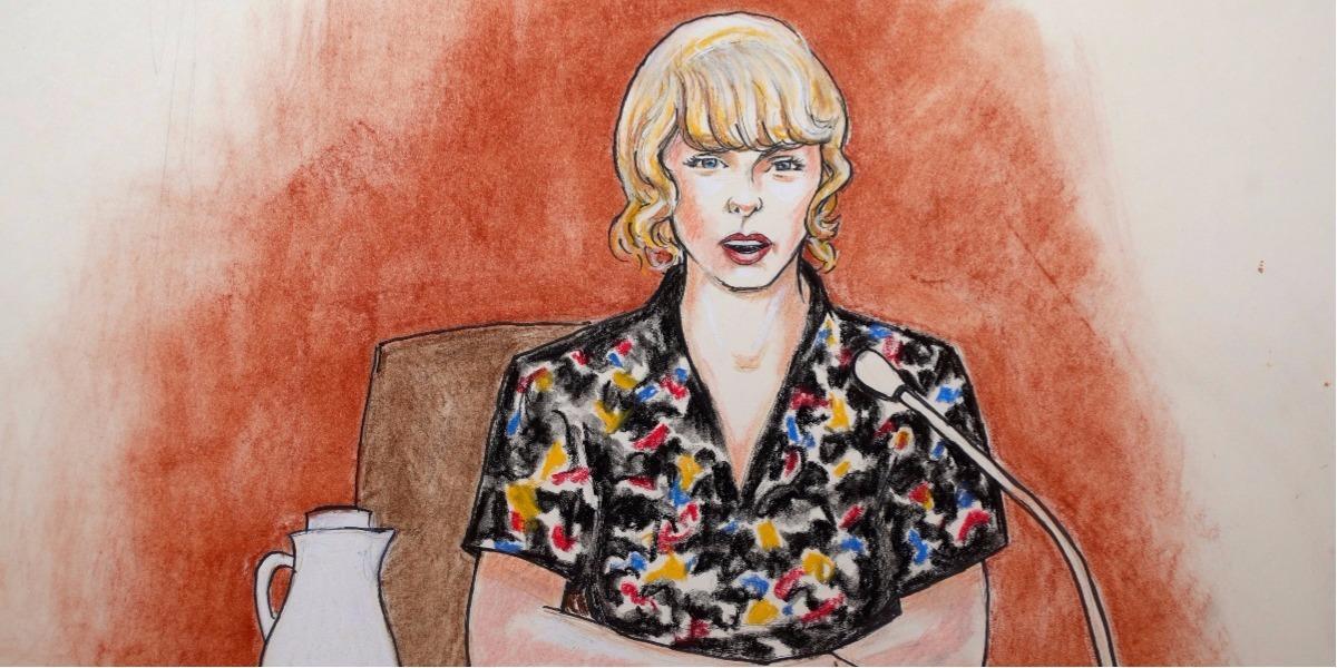 La cantante Taylor Swift declaró en el caso de abuso sexual.