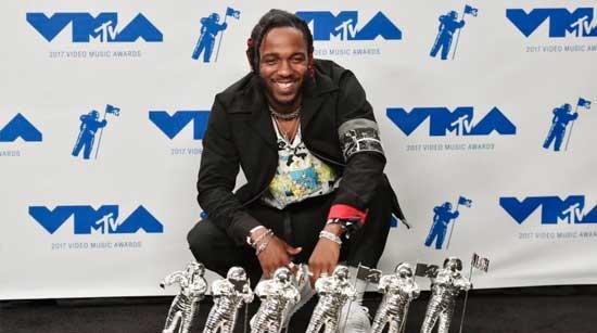 Kendrick Lamar triunfó en los MTV Video Music Awards