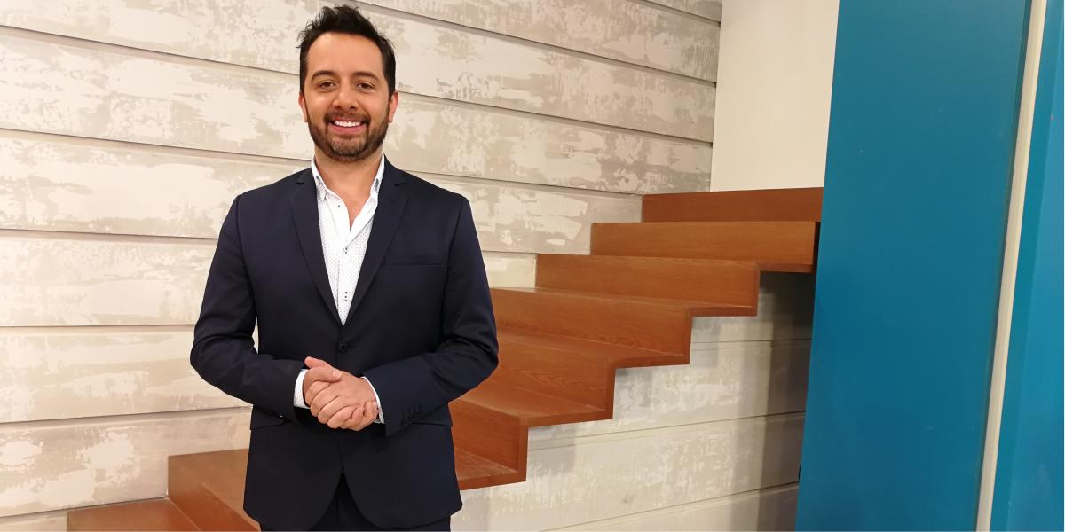 El talentoso Carlos Marín será uno de los cuatro anfitriones de Acá entre nos