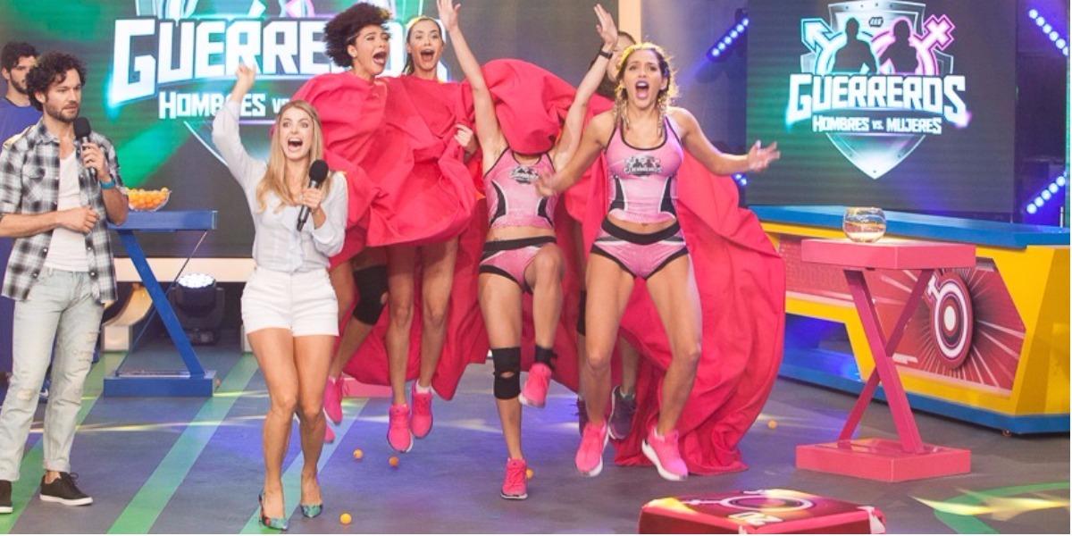 Las mujeres se llevaron el triunfo en 'Guerreros' - Foto: Antony Herrera.