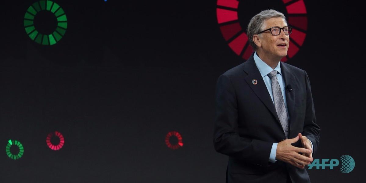 El nuevo teléfono de Bill Gates - Foto: Yana Paskova / GETTY IMAGES NORTH AMERICA / AFP