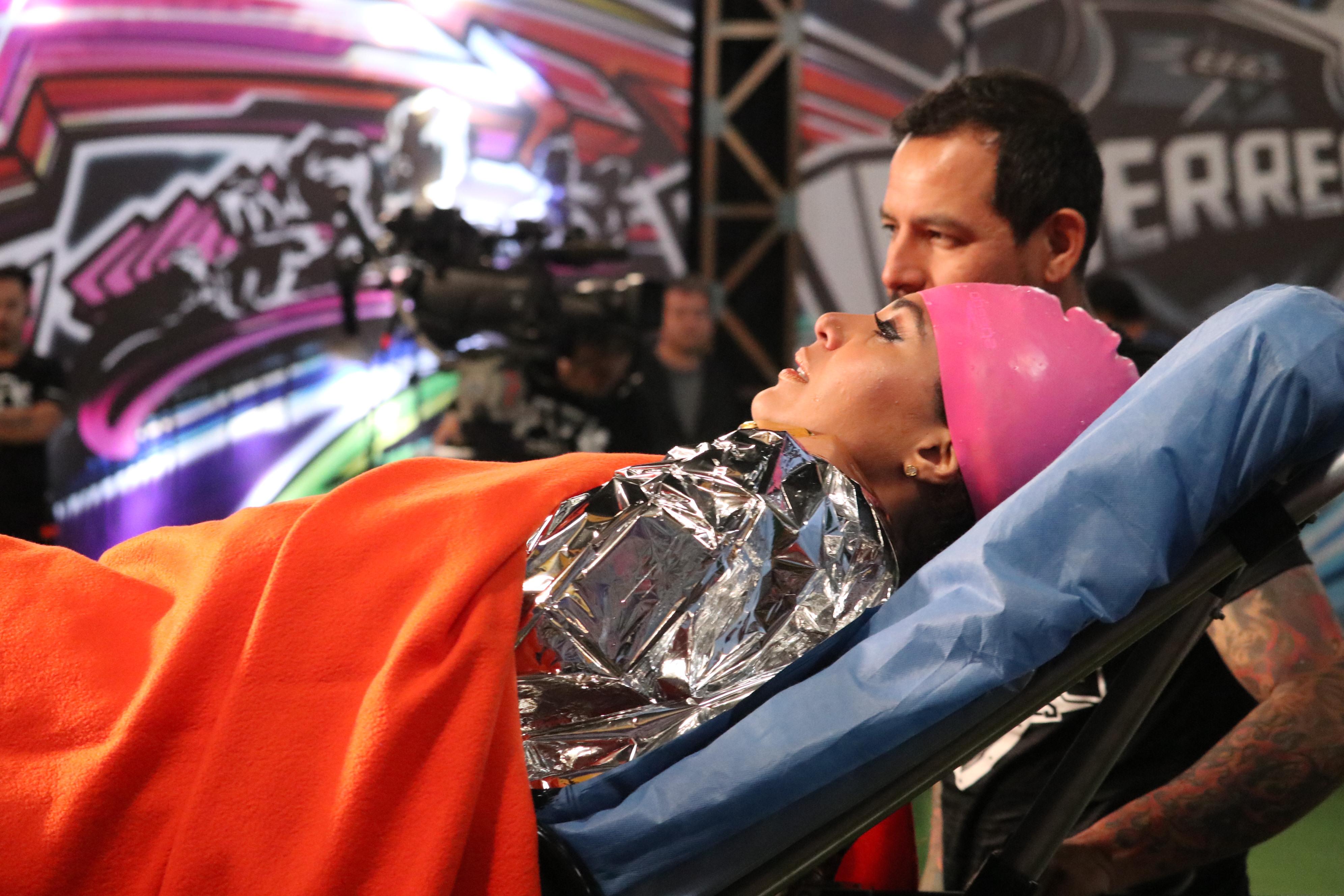 «Cuca» sufrió este fuerte accidente en «Guerreros»