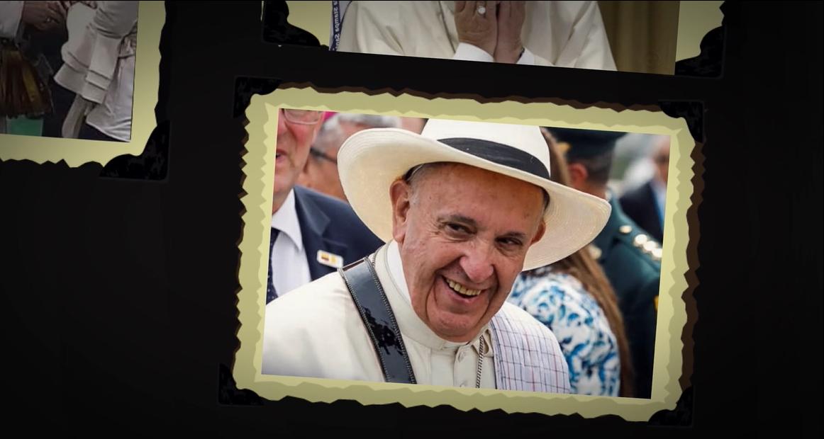 Vea la 'novela del Papa Francisco' por la «Triple Viral»
