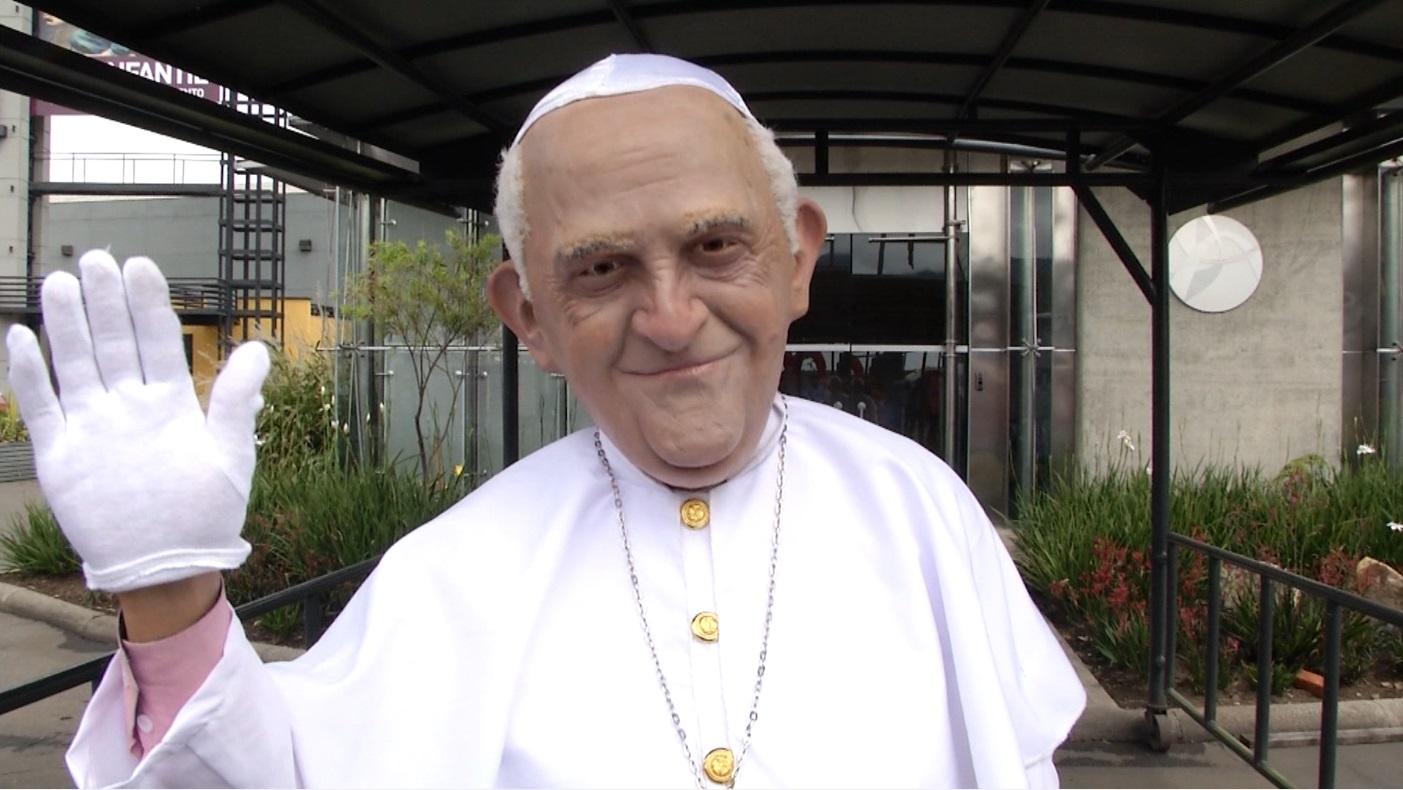 Papa Francisco Feria del Hogar