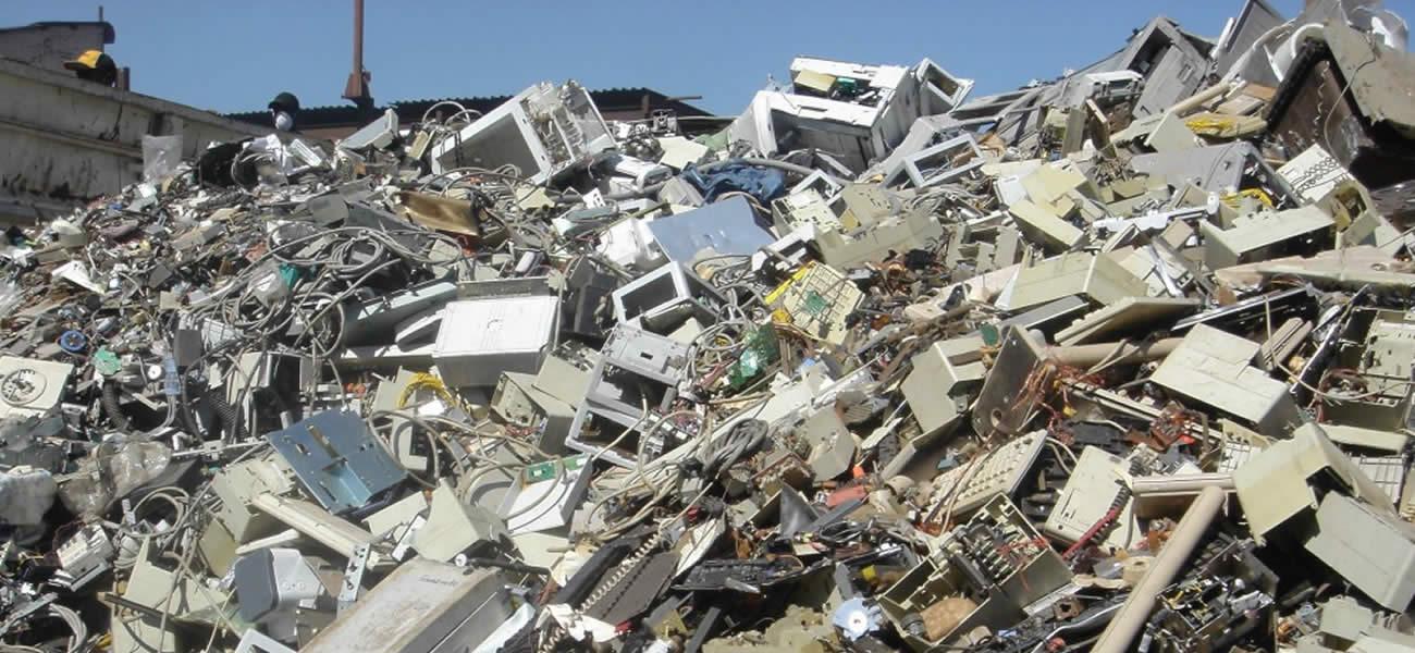 ¿Cómo desechar los residuos electrónicos?