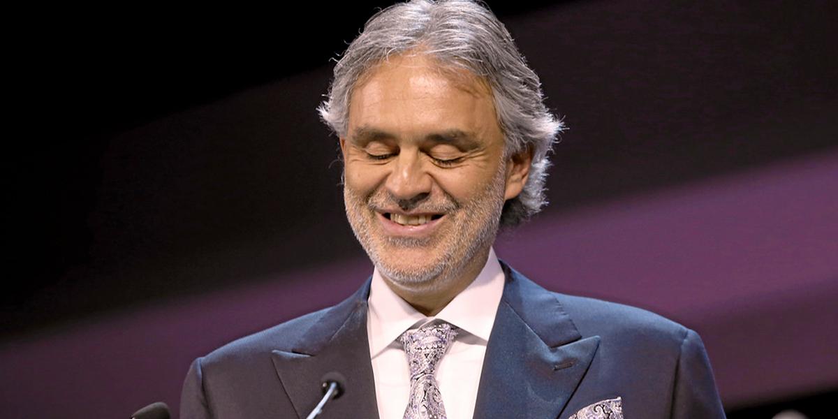 Andrea Bocelli hospitalizado tras caerse de un caballo