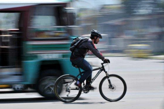 Las infracciones más comunes de los ciclistas en las vías de Bogotá