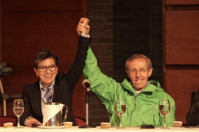 Claudia López elegida por el partido Verde