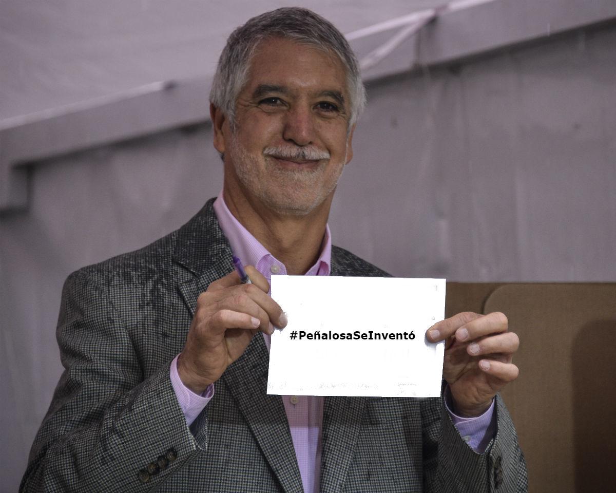 El alcalde Peñalosa es tendencia en redes por este desatino