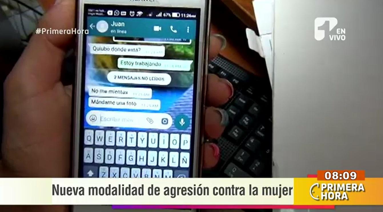 extorsión por celular