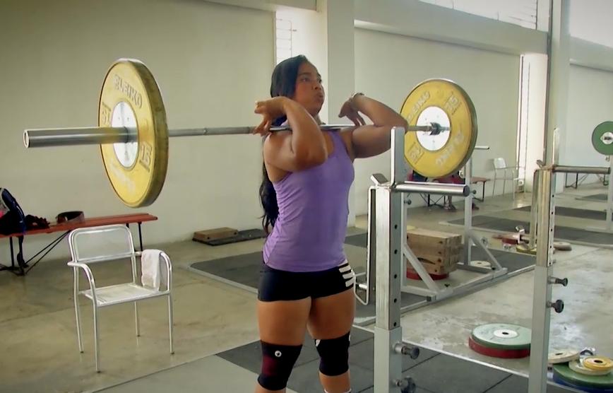 La historia de superación de la pesista Lady Solis