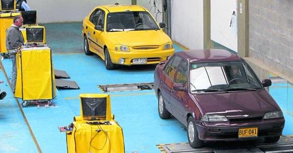 Alerta por evasión a la revisión técnico – mecánica en Colombia