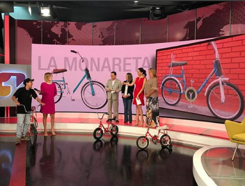'La Monareta', la icónica bicicleta de los colombianos