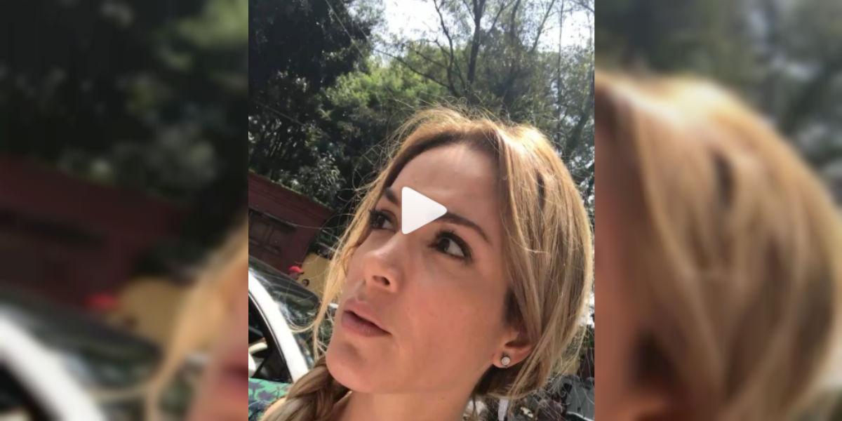 Nataly Umaña vivió en carne propia el terremoto en México