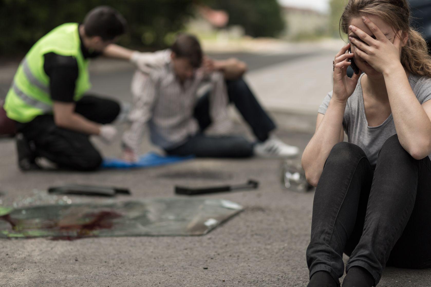 Así ocasionan accidentes los peatones imprudentes