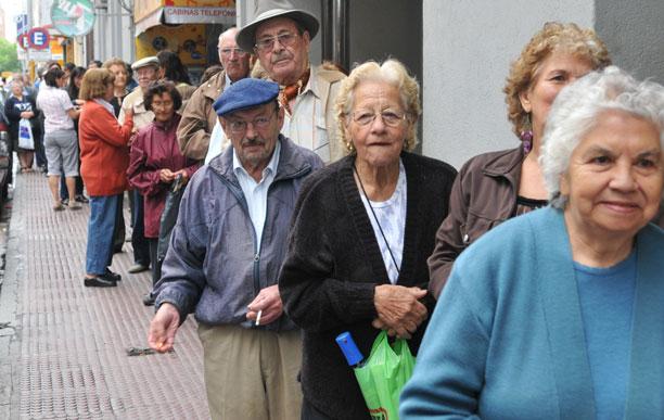 La edad de su pareja influye en la pensión que recibe