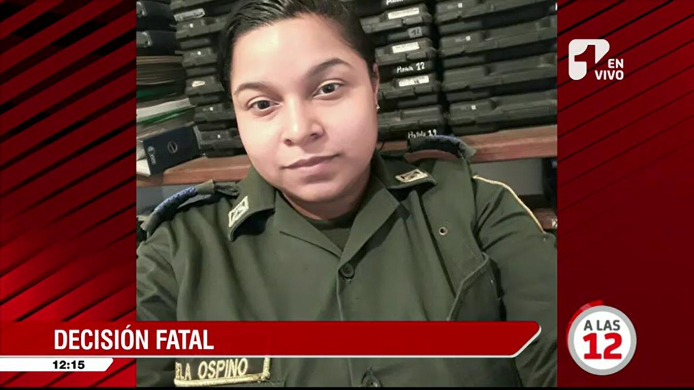 Patrullera de la Policía en la Guajira se suicidó y dejó esta desgarradora carta
