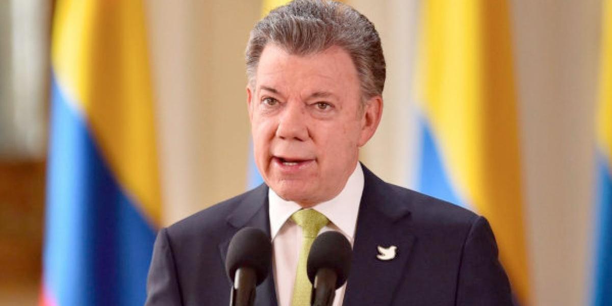 'Rechazamos los hechos terroristas de Londres': presidente Santos