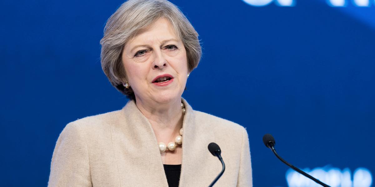 Primera ministra Theresa May, realiza visita sorpresa a Irak