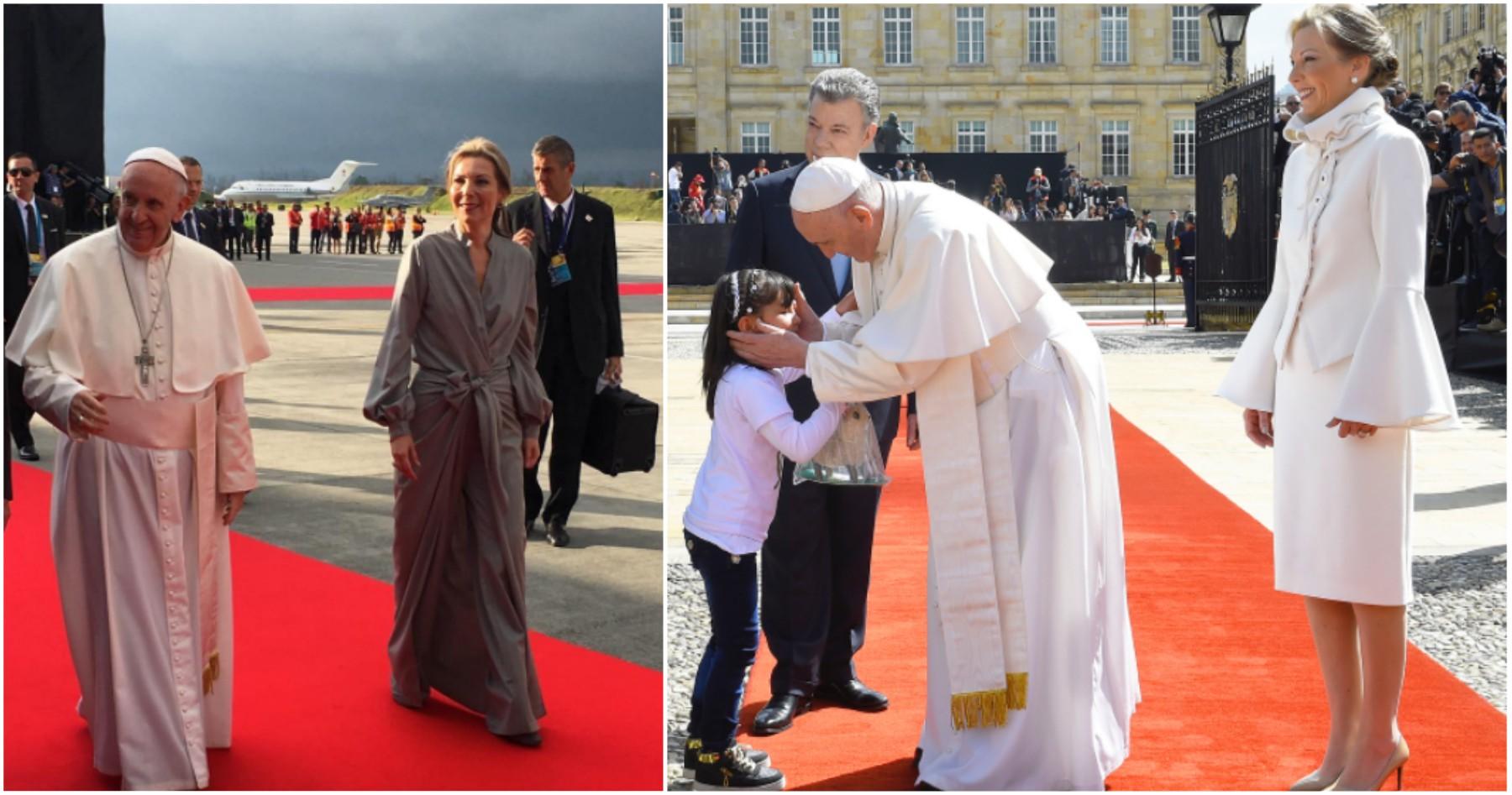 Trajes de Tutina por visita del Papa
