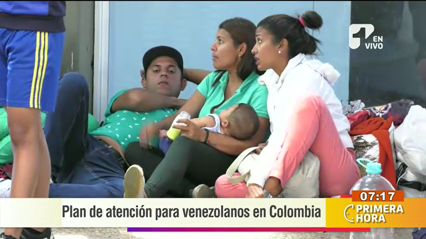 Así se está ayudando a los venezolanos desplazados