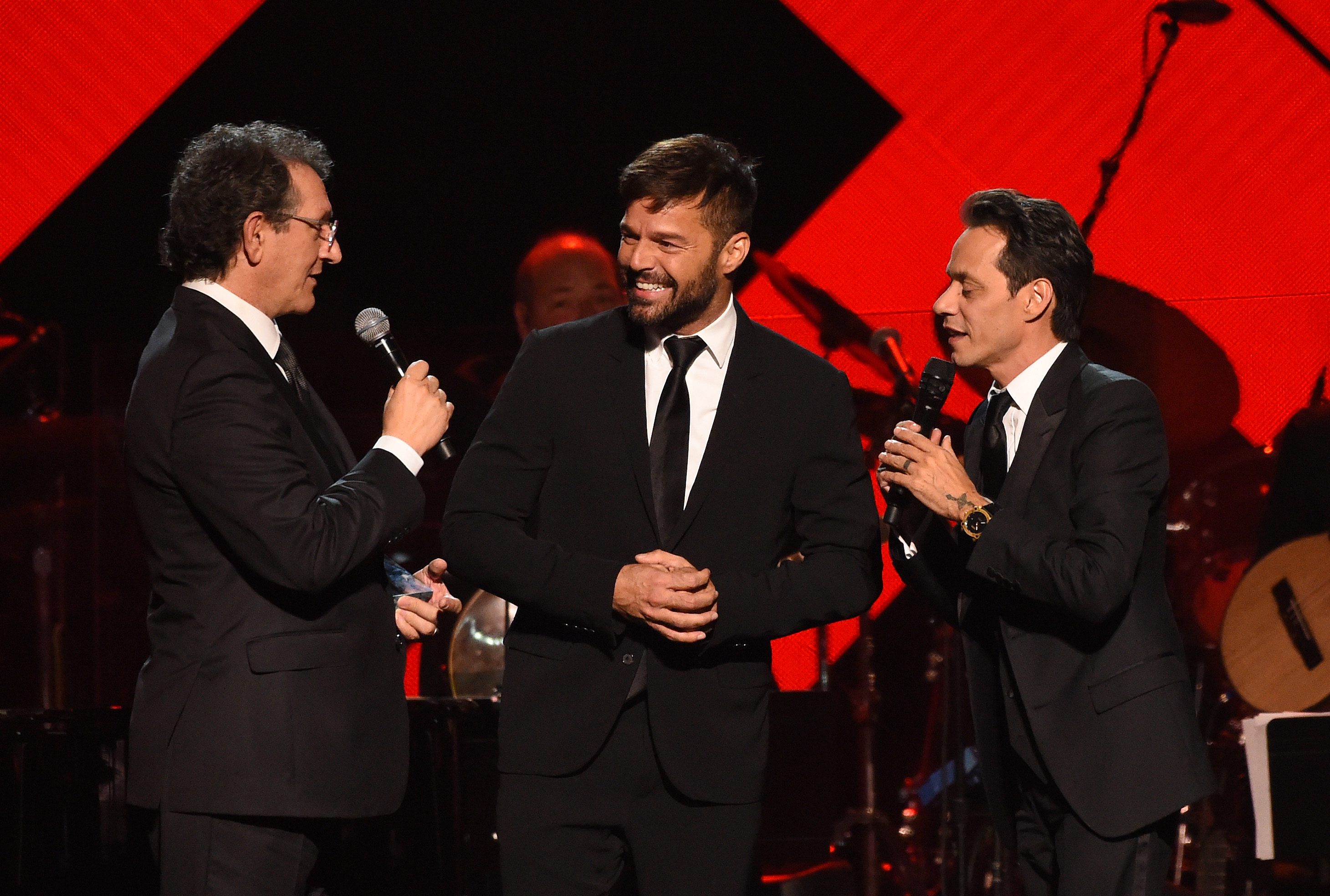 Discursos emotivos: (2016) La conmovedora anécdota de Ricky Martin sobre Marc Anthony