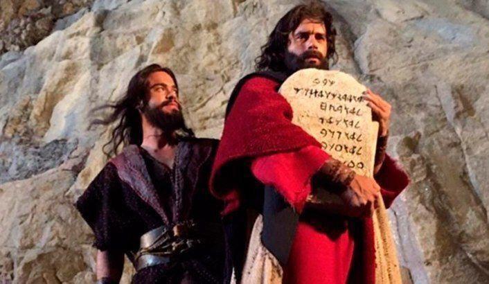 La nueva versión de Moisés y los diez mandamientos ya está en cines