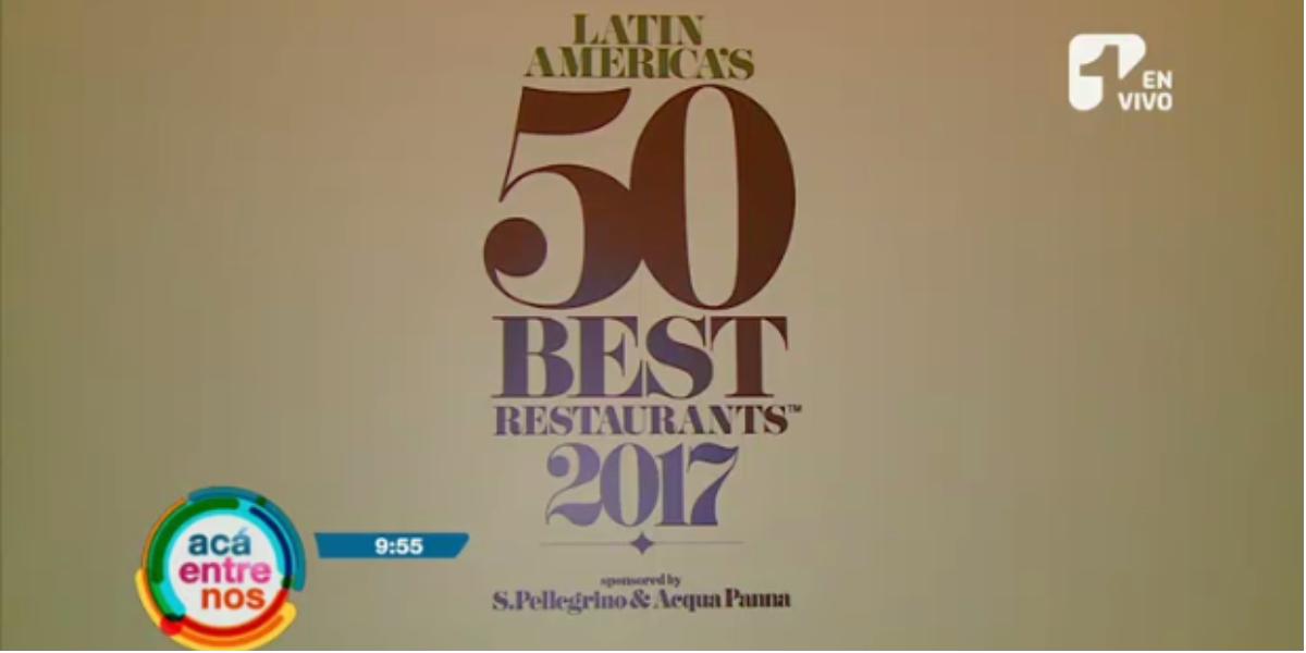 Los 50 mejores restaurantes de América Latina - Foto: captura de pantalla.