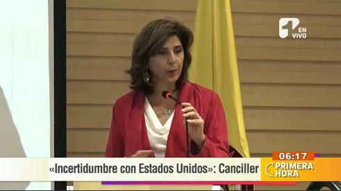 Incertidumbre en las relaciones internacionales con EE.UU. y Venezuela