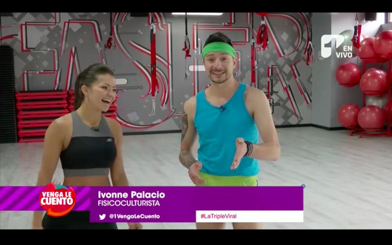 ¿Bikini Fitness? Santiago Rendón se le midió a esta nueva tendencia de ejercicios