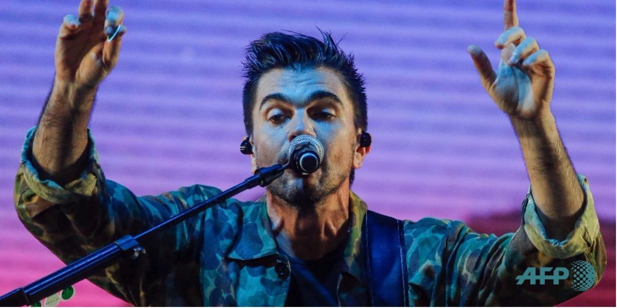 Juanes tiene 6 nominaciones al Latin Grammy - Foto: INTI OCON / AFP