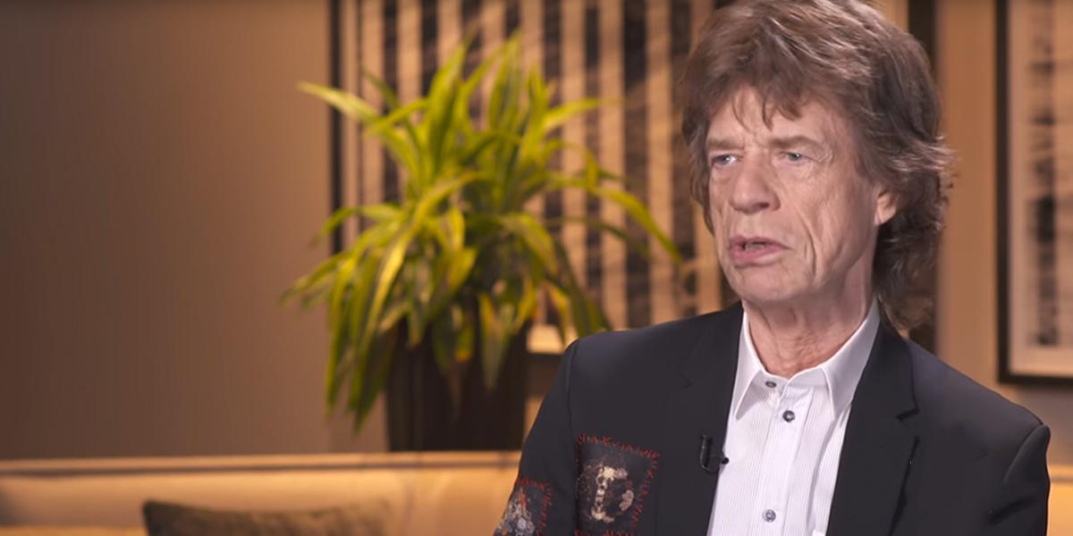 Relacionan a Mick Jagger con una joven de 22 años