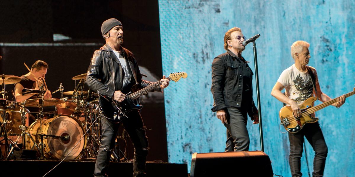 Toma 1: Así fue el concierto de U2 en Bogotá