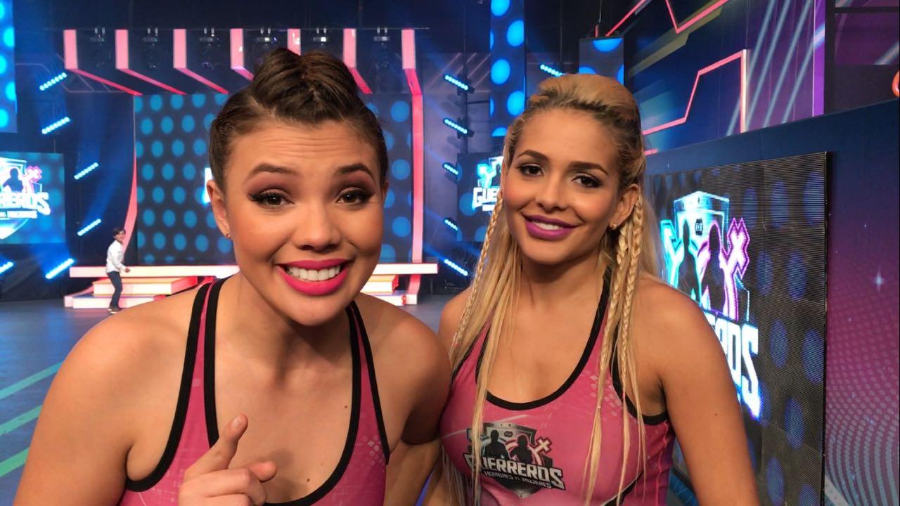 Luisa y Barbie - Foto: Canal 1