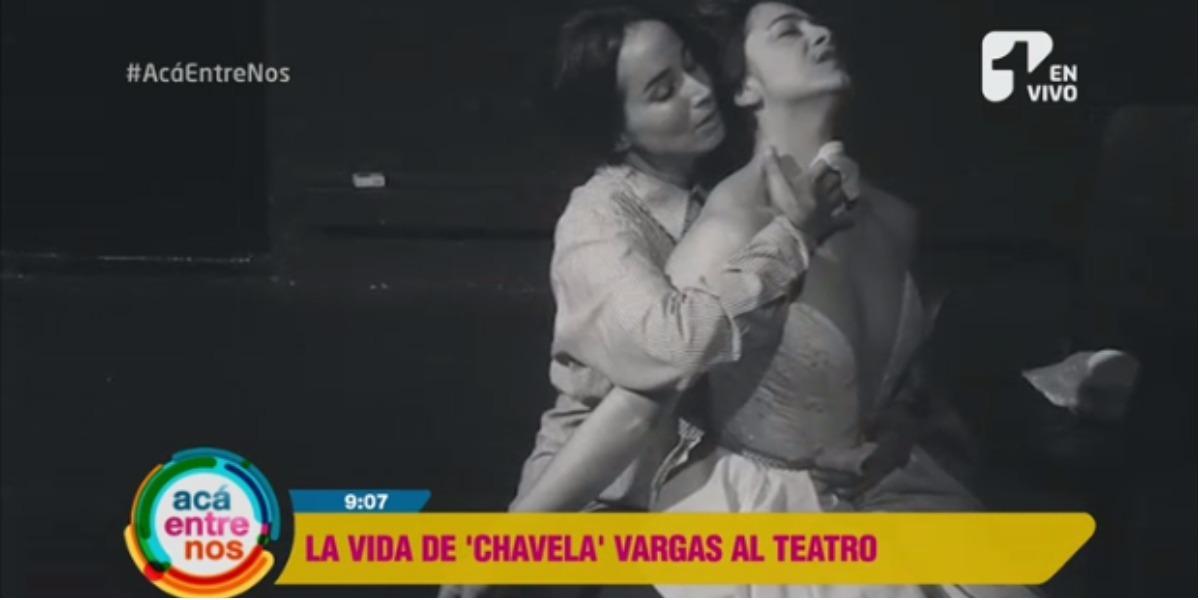 Majida Issa y Natalia Bedoya juntas en esta obra - Foto: captura de pantalla.