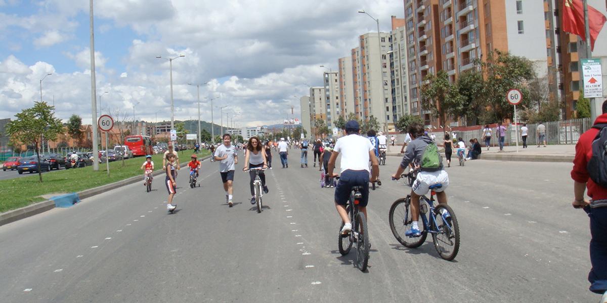 Bogotá contará con 3,7 kilómetros adicionales de ciclovía dominical