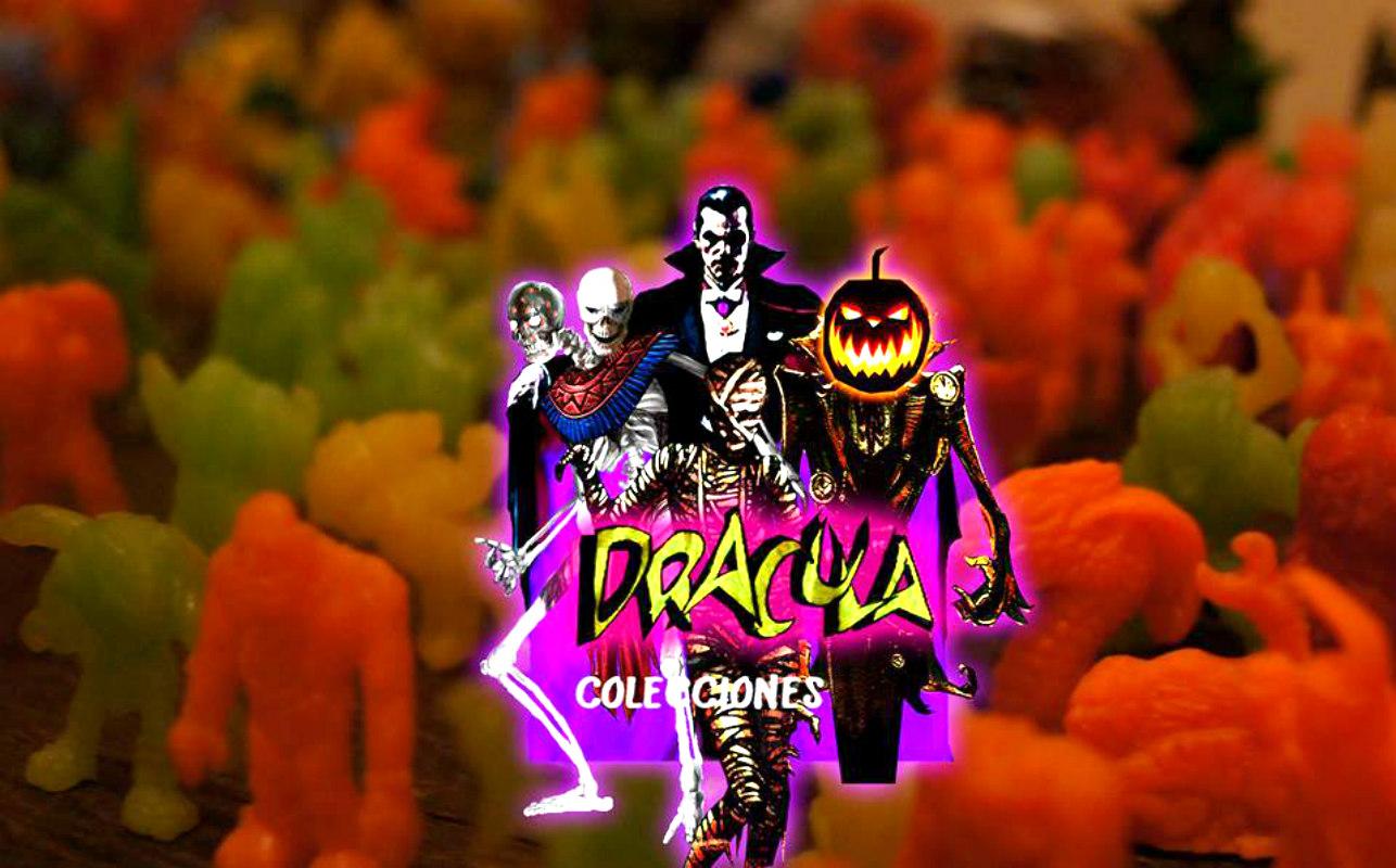 Colecciones de infancia: Las memorables figuras de la paleta Drácula