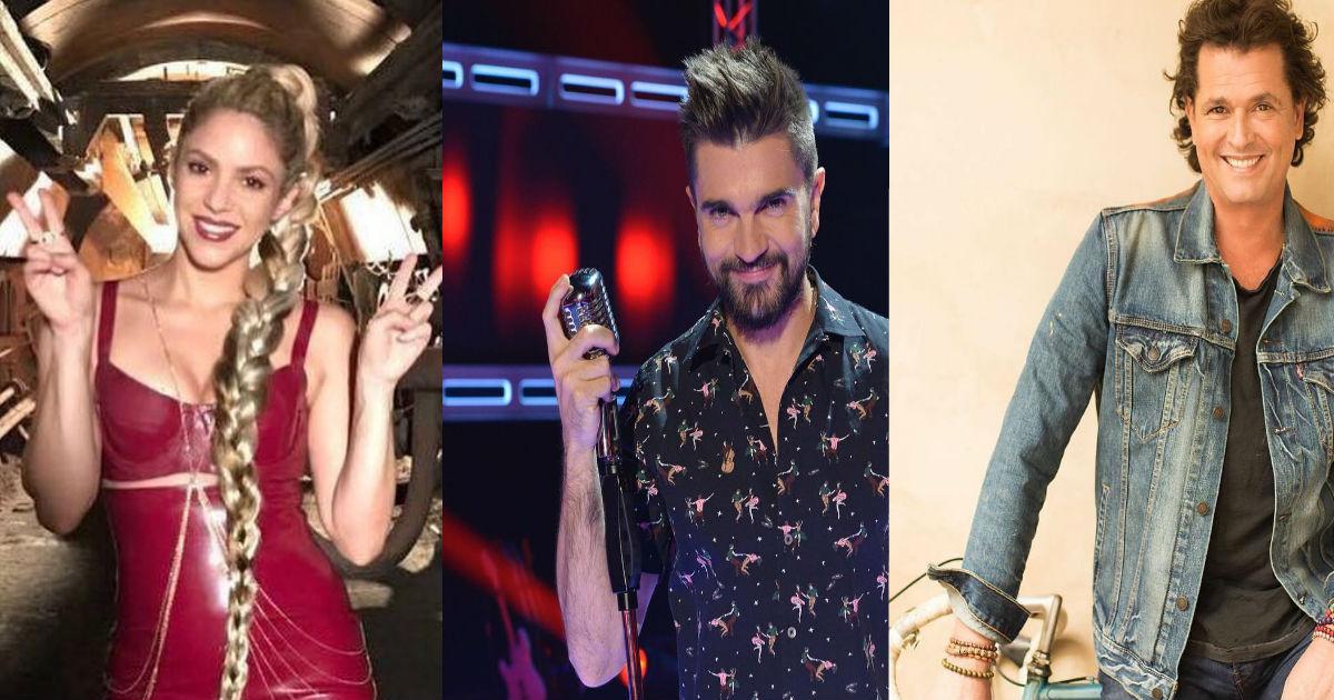 Los colombianos que más han ganado en los Latin Grammy