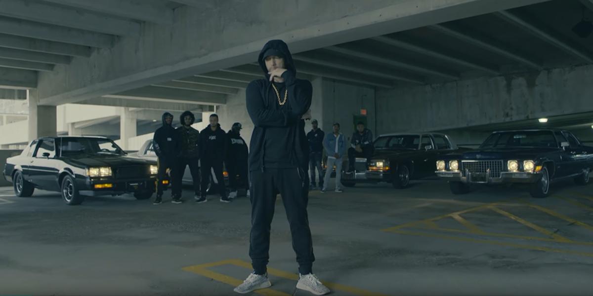 Eminem critica a Trump en gala de premios BET Hip-Hop