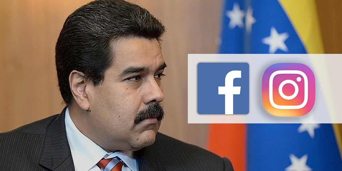 Maduro citará a jefes de Facebook e Instagram por supuesto 'veto'