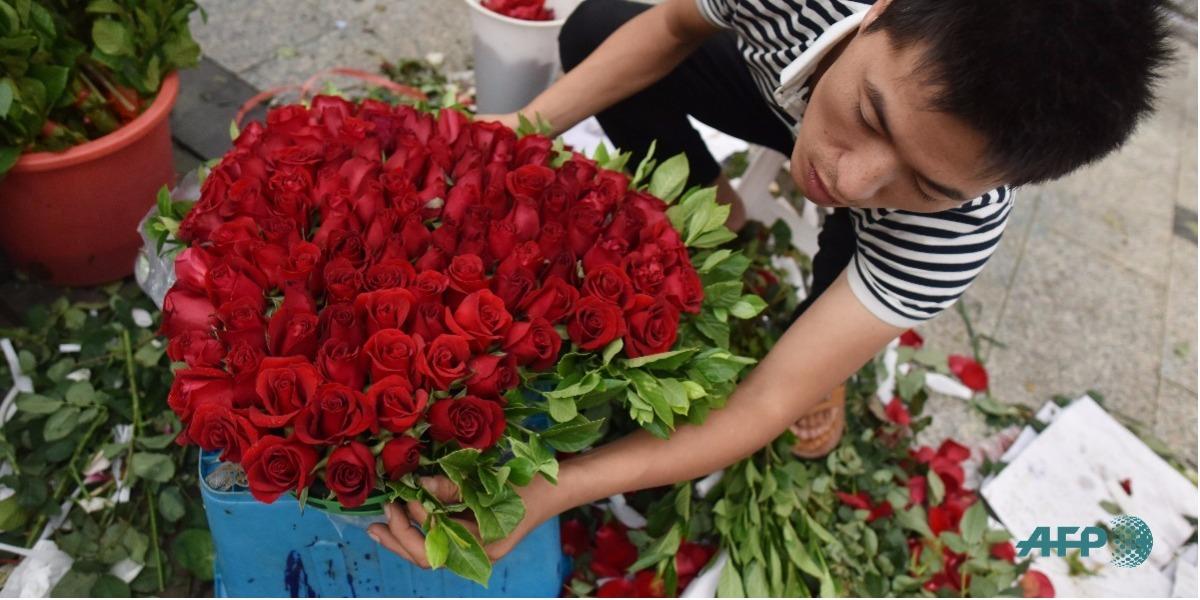 El gremio floricultor tiene su espacio en Bogotá - Foto: GREG BAKER / AFP