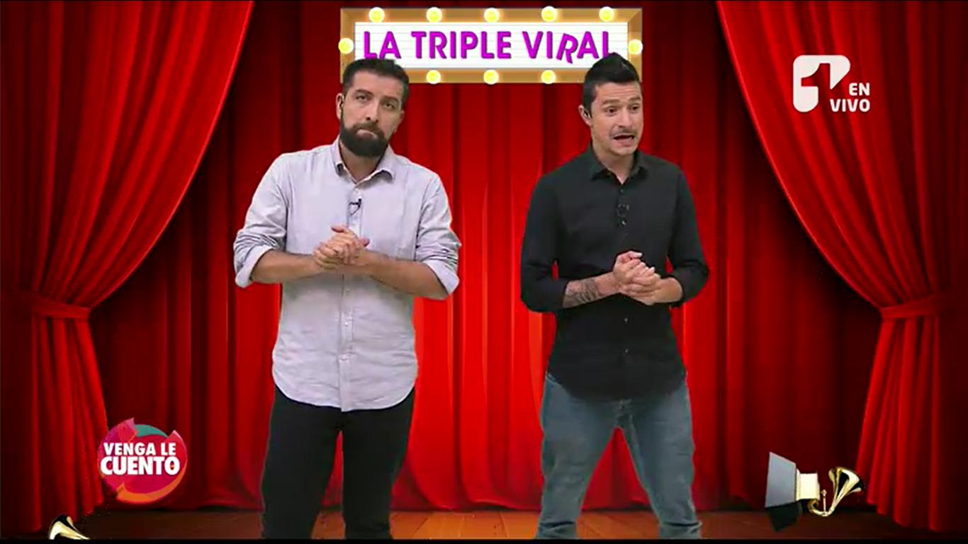 Lo que no deben hacer los colombianos en los Grammy Latinos según la «Triple Viral»
