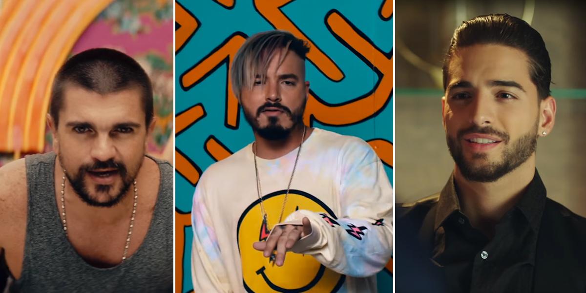 Juanes, J Balvin y Maluma, cuota colombiana para debutar en los Grammy Latino