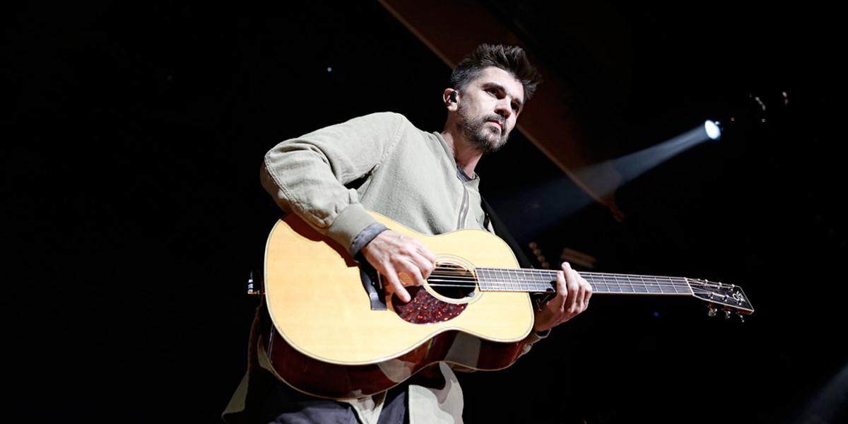 Juanes hizo parte de concierto benéfico en México