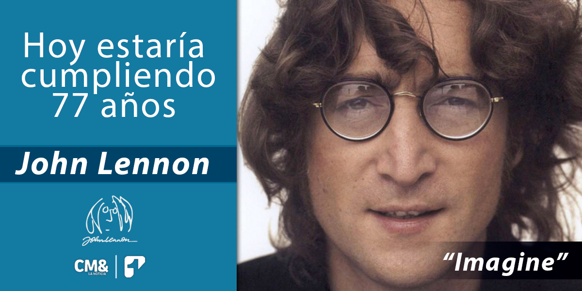Hoy estaría cumpliendo 77 años el exbeatle John Lennon