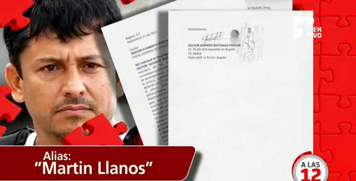 Martín Llanos asegura que nada ha pasado con los políticos que denunció