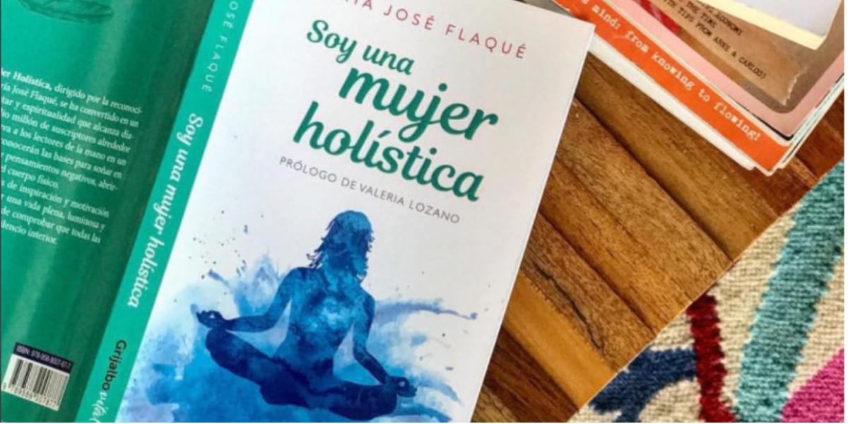 María José Flaqué nos habló de su libro 'Soy una mujer holística' - Foto: Tomada de @mjflaque en Instagram.